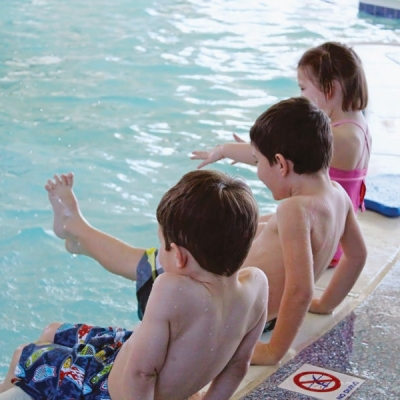 Learn to swim at Renaud Center, with lessons held all year