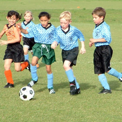 Youth soccer leagues are available most of the year